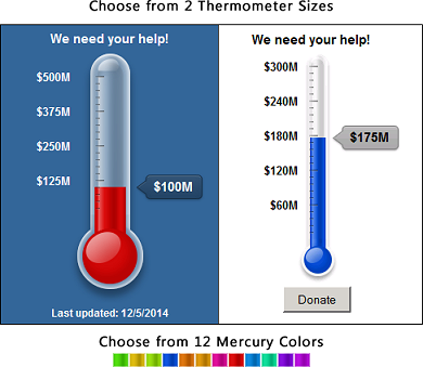 Sharepoint Goal Thermometer Web Part